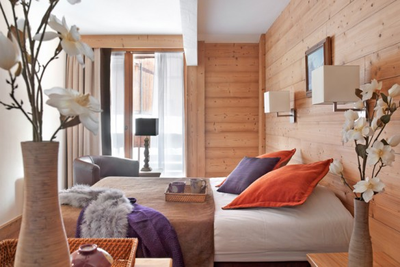 Bedroom in le chalet du forum - apartment in Courchevel, France