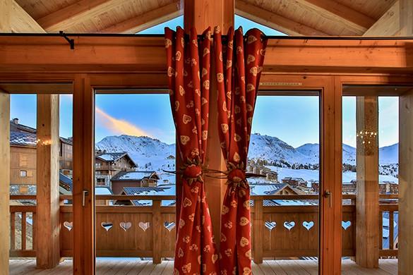View- Chalet Benoite - Ski Chalet in La Plagne, France