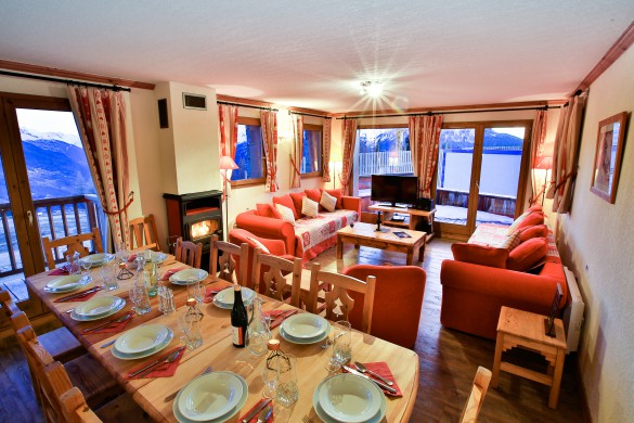 family ski holidays in marmotte la rosiere