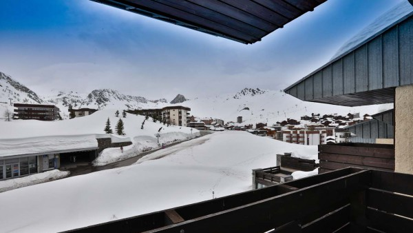 View from Chalet Bouquetin, Tignes, France