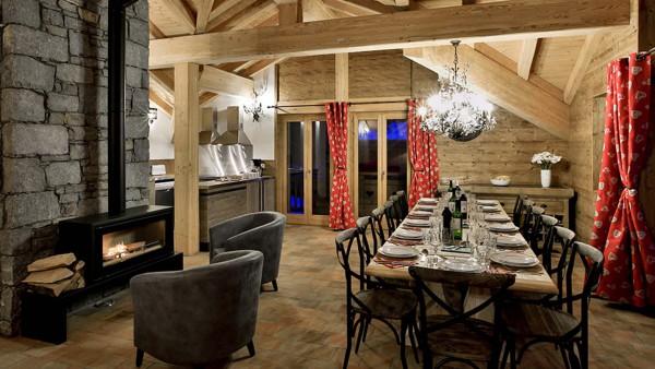 Dining Area - Chalet Campanula - Ski Chalet in La Plagne, France