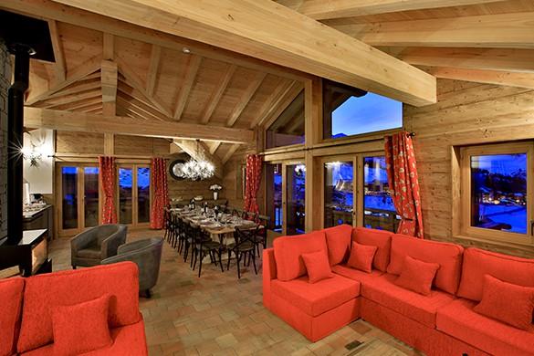 Lounge Area - Chalet Campanula - Ski Chalet in La Plagne, France