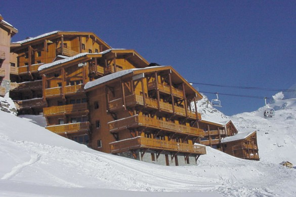 Chalet Abricot ext, Val Thorens