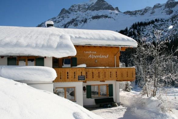 Chalet Alpenland ext side, Lech - Zug