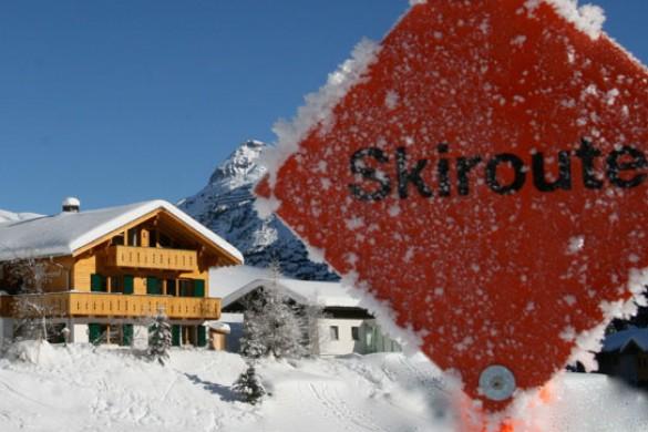 Chalet Alpenland skiroute, Lech - Zug