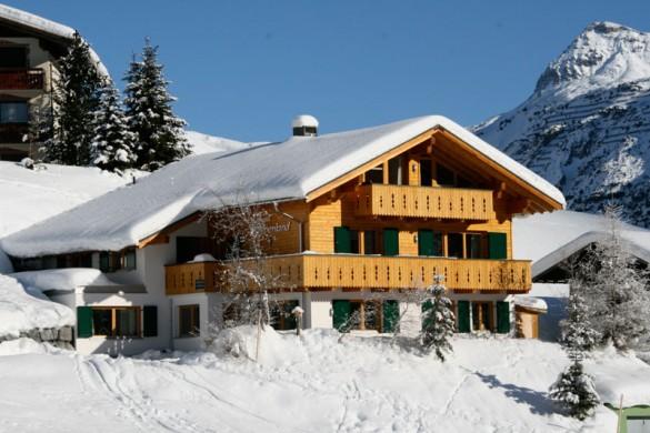 Chalet Alpenland exterior, Lech - Zug