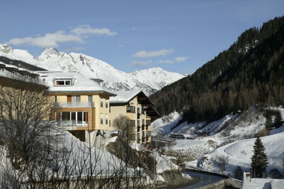 Chalet Altepost ext view, St Anton