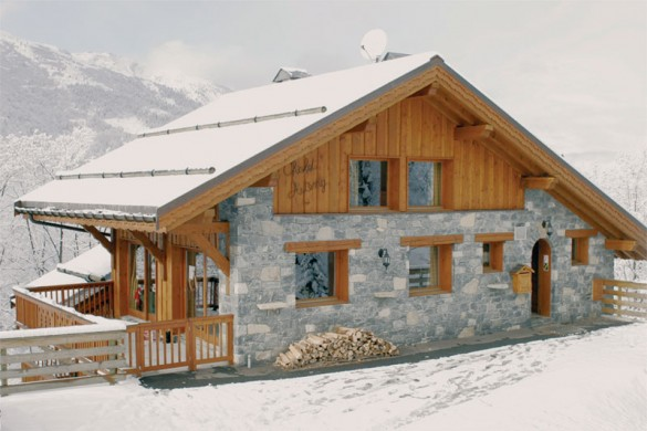 Chalet Astemy ext top floor, Meribel