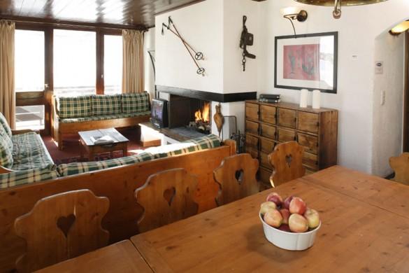 Chalet Bouquetin lounge, Tignes