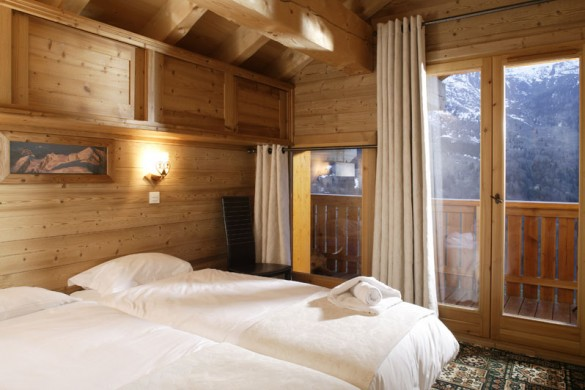 Chalet Laetitia bed, Meribel