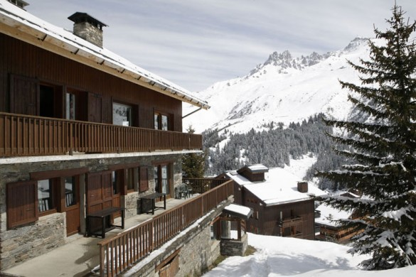 Chalet Andre ext view, Meribel