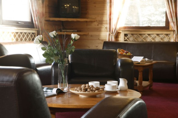 Chalet Les Eterlous lounge close up, Alpe D'Huez