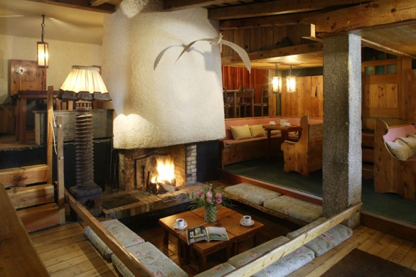 Chalet Lores lounge, Val D'Isere