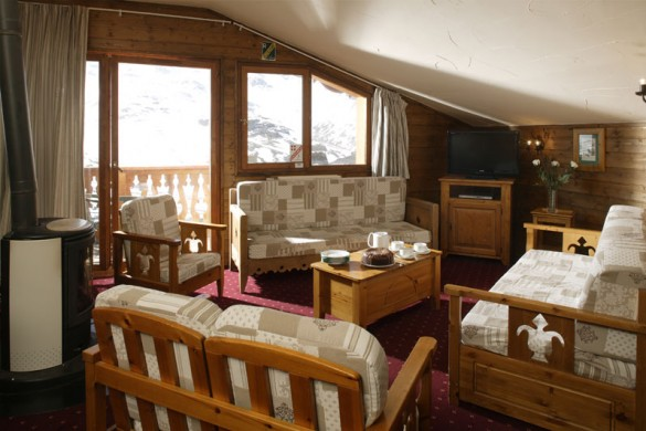 Chalet Milo lounge, Val Thorens