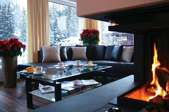 Living room, chalet Mooserwirt, St Anton