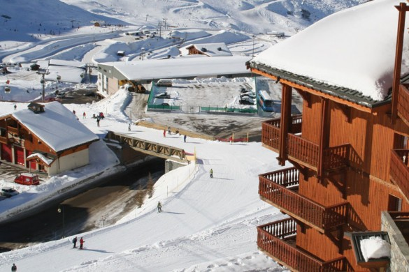 Chalet Peche ext view, Val Thorens