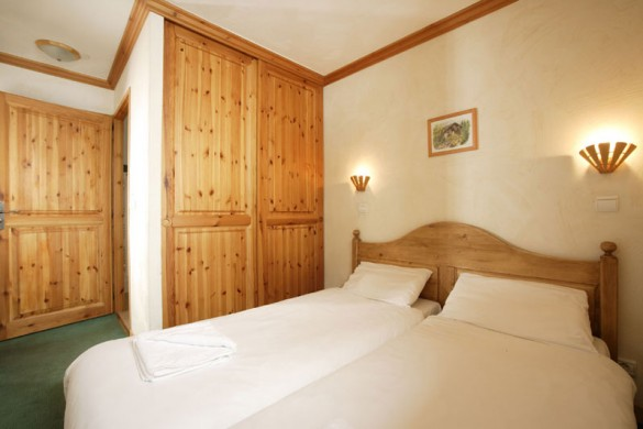 Chalet Peclet bed, Val Thorens