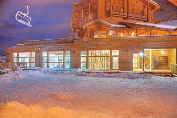 Chalet Phoenix ext fitness, Val Thorens