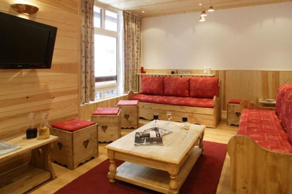 Chalet Tichot lounge, Tignes