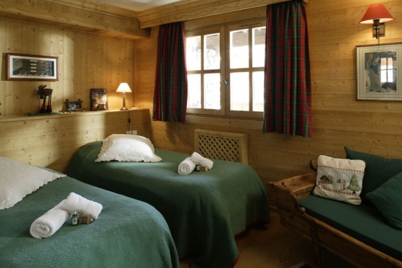Chalet Tolima beds green, Val D'Isere