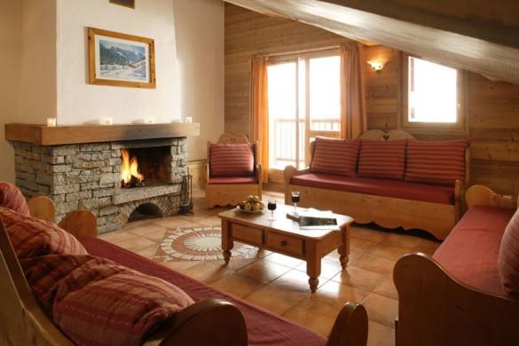 Chalet Vanoise lounge, Les Arcs