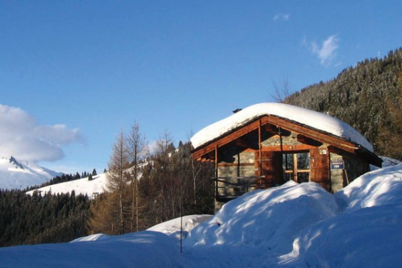 Chalet Yves ext view, Les Arcs