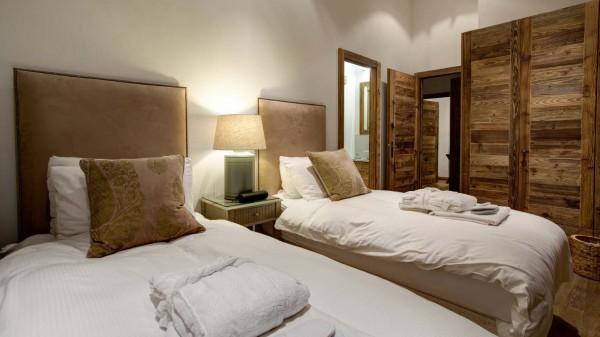 Bedroom 3, Chalet Altair in Nendaz, Switzerland