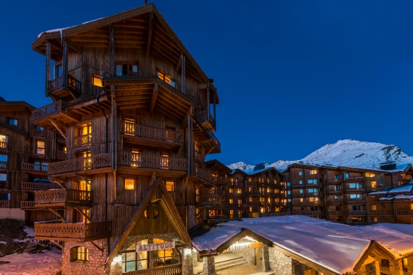 Chalet Renod exterior, Val Thorens