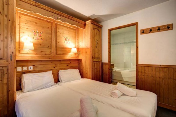 Chalet Cerise, Val Thorens, France, Bedroom