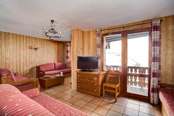 Chalet Cerise, Val Thorens, France, Living Area