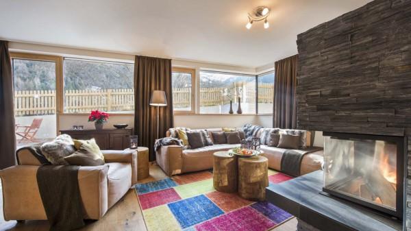 Living Area, Chalet Cirrus, St. Anton, Austria