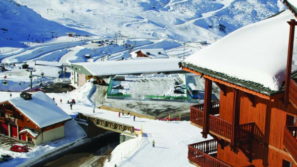 Chalet Clementine ext view, Val Thorens