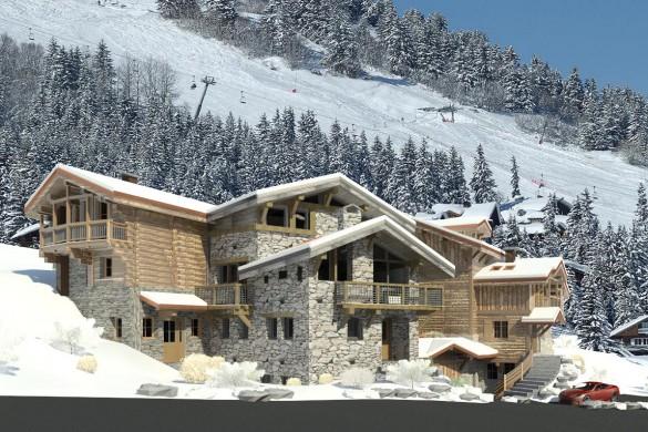 Chalet Benjamin - Ski chalet in Courchevel, France