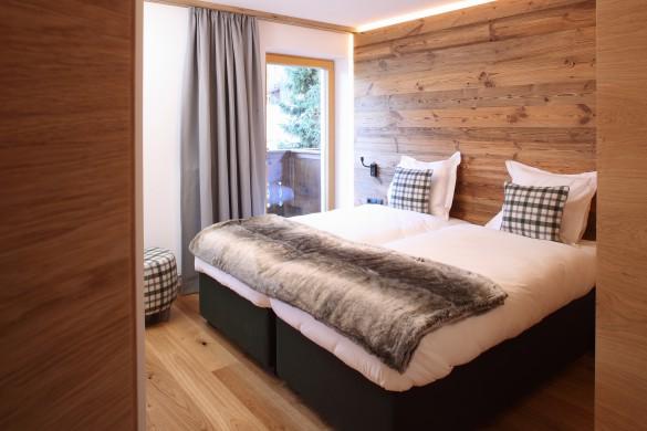 Bedroom in Chalet Kapall - Ski Chalet in St Anton, Austria