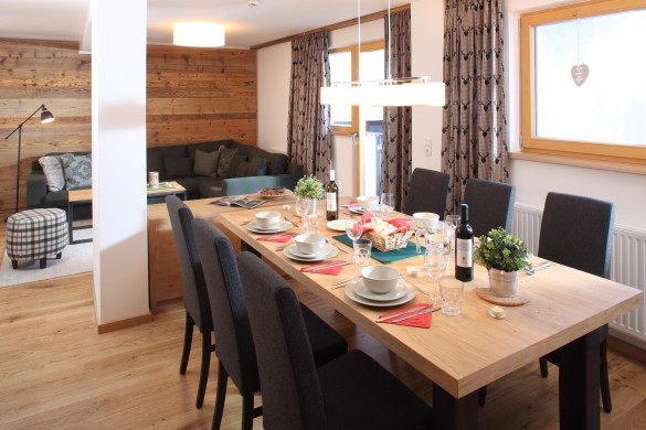 Dining room in Chalet Kapall - Ski Chalet in St Anton, Austria