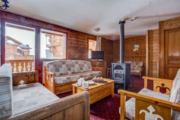 Chalet Leo, Val Thorens, France, Living Area