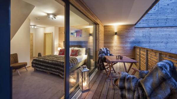 Bedroom, Chalet Nimbus, St. Anton, Austria