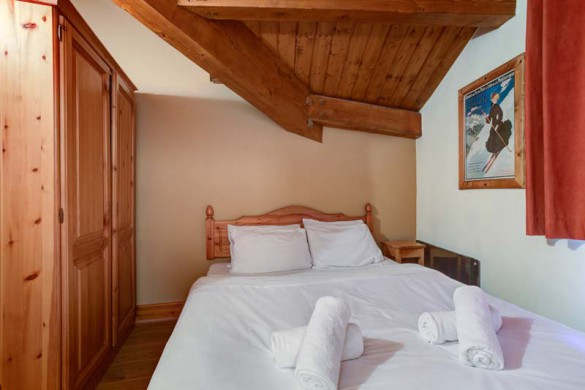 Chalet Rayon de Soleil, Val Thorens, France, Double Room
