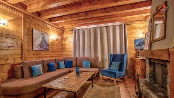 Chalet Rayon de Soleil - Living Room