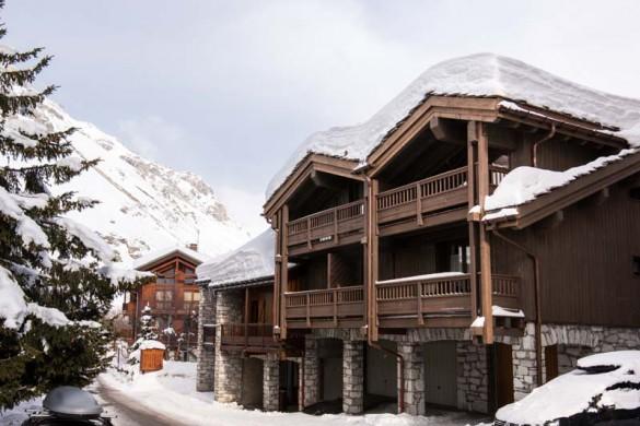 Exterior of chalet Sylvie - ski chalet in Val d'Isere, France