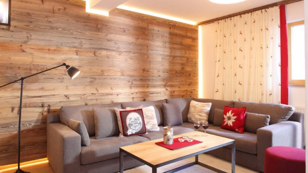 Living room in Chalet Valluga - Ski Chalet in St Anton, Austria