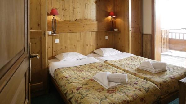 Chalet Verseau bedroom