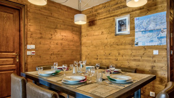 Chalet Verseau, Val Thorens - Dining