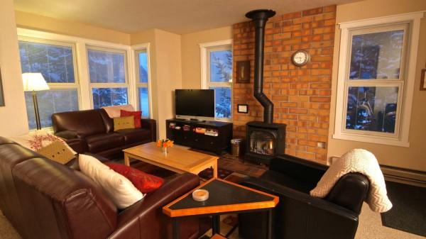 Lounge area in Chalet Victoria, Breckenridge, USA