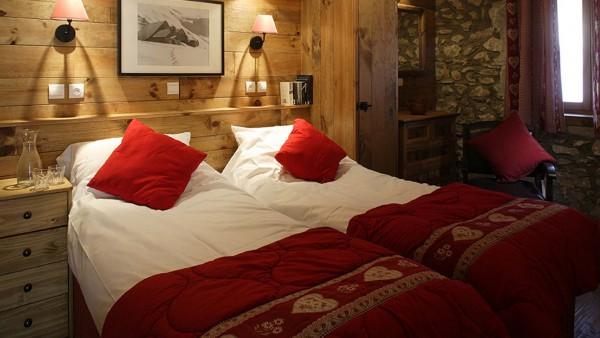 Chalet Chamois Volant bed, Les Deux Alpes