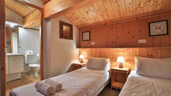 Bedroom, Chalet Charmant, La Plagne, France