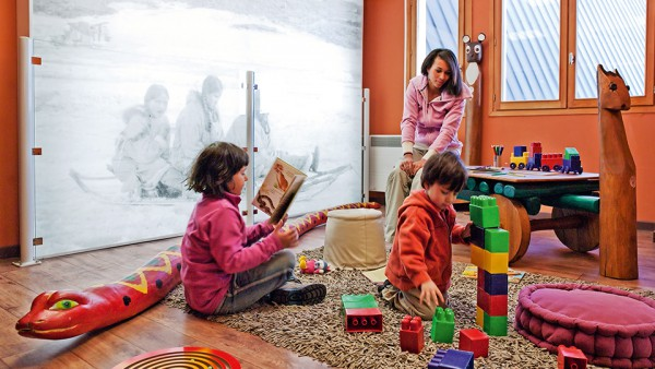 Child Creche Area, Residence Le Machu Pichu, Val Thorens, France