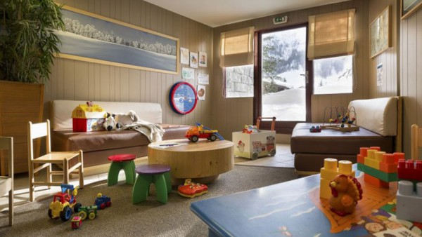 Child Play Area, Residence La Daille, Val d'Isere, France