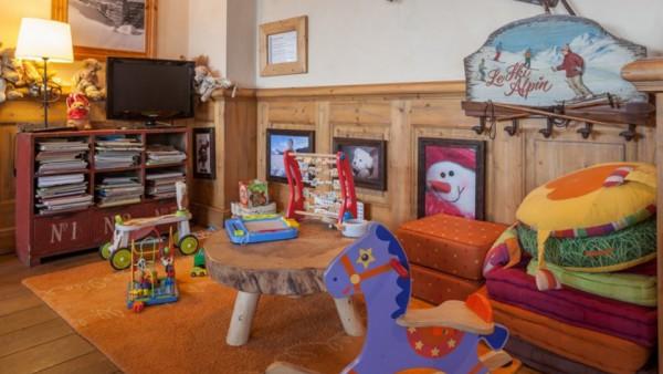 Child Play Area, Residence La Ginabelle, Chamonix, France