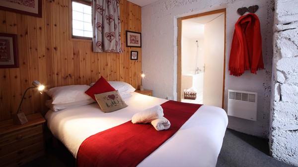 Chalet Cicero bedroom, Les Arcs
